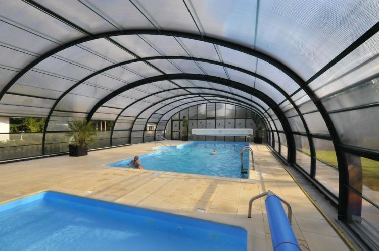 NatuurRijk De Kempenzoom heeft een luxe verwarmd zwembad.